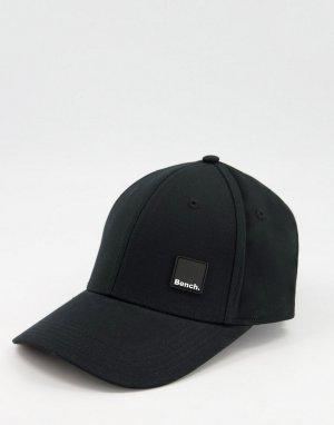 Черная кепка с небольшим логотипом -Черный цвет Bench