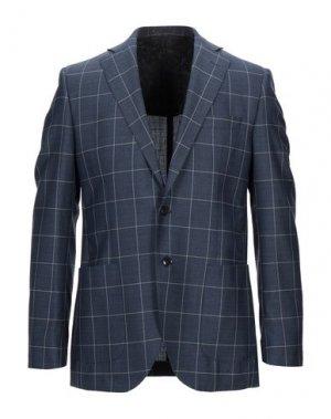 Пиджак BRIAN HAMILTON. Цвет: синий