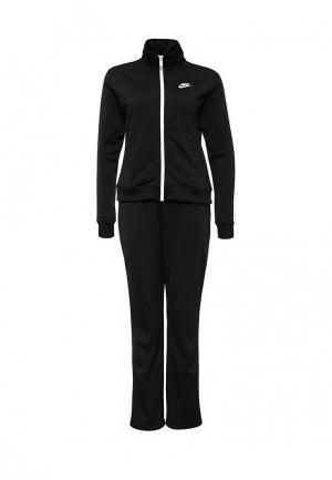Костюм спортивный Nike Womens Sportswear Track Suit. Цвет: черный