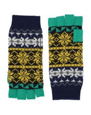Перчатки BURBERRY. Цвет: желтый