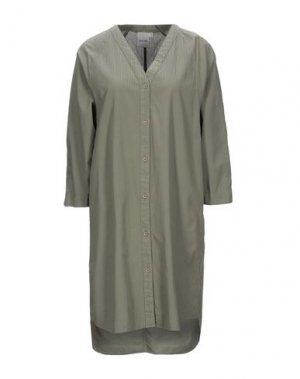 Короткое платье ELVINE. Цвет: зеленый-милитари
