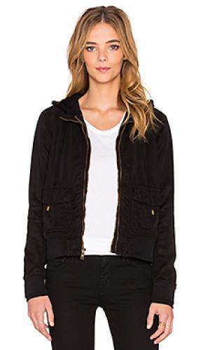 Куртка alena YFB CLOTHING. Цвет: черный