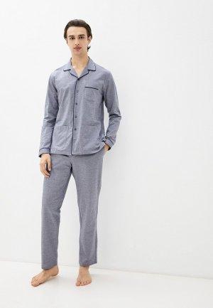 Пижама Henderson. Цвет: серый