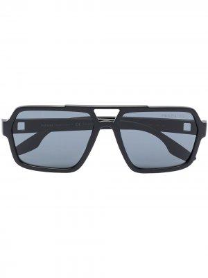Солнцезащитные очки-авиаторы Linea Rossa Prada Eyewear. Цвет: черный