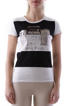 T-shirt Richmond Denim. Цвет: white, black