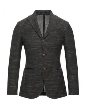 Пиджак FUTURO. Цвет: темно-коричневый