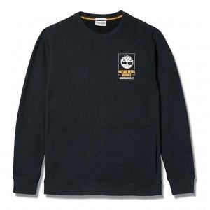 Толстовки NNH Crew Neck Sweatshirt Timberland. Цвет: черный