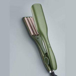 Щипцы для завивки волос SHEIN. Цвет: мятно-зеленый