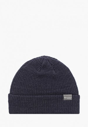 Шапка Bergans of Norway Rib Beanie. Цвет: синий