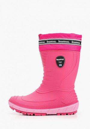 Резиновые сапоги Kuoma. Цвет: розовый