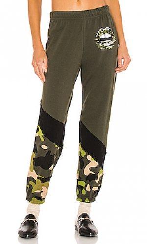 Спортивные брюки ophelia Lauren Moshi. Цвет: зеленый