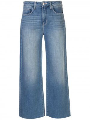 LAgence широкие джинсы средней посадки L'Agence. Цвет: синий