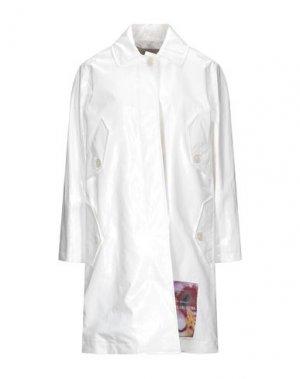 Легкое пальто FRANKIE MORELLO. Цвет: белый