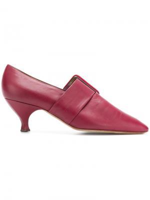Туфли с заостренным носком Romeo Gigli Pre-Owned. Цвет: красный