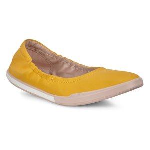 Балетки SIMPIL II W ECCO. Цвет: желтый
