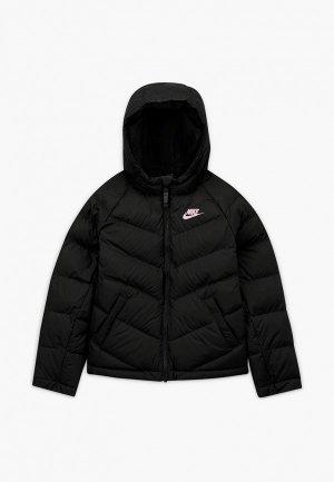 Куртка утепленная Nike U NSW SYNTHETIC FILL JACKET. Цвет: черный