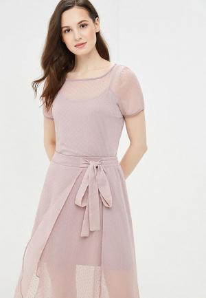 Блуза Argent. Цвет: розовый