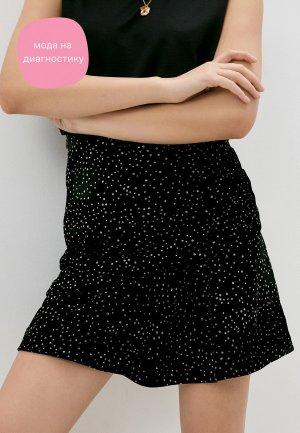 Юбка Iro. Цвет: черный