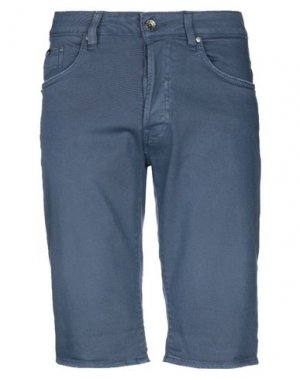 Джинсовые шорты GAS. Цвет: грифельно-синий