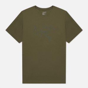 Мужская футболка Archaeopteryx SS Arcteryx. Цвет: оливковый