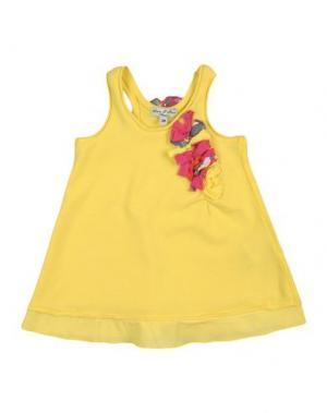 Платье ELIANE ET LENA. Цвет: желтый