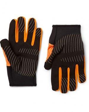 Перчатки OFF-WHITE™. Цвет: оранжевый