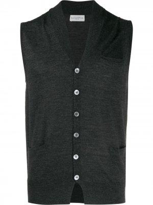 Трикотажный жилет Ballantyne. Цвет: серый