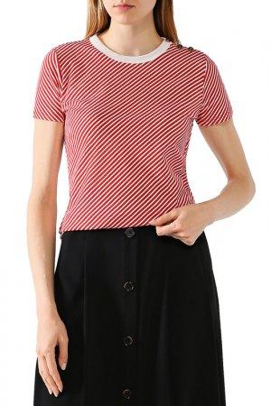 Пуловер LAUREN RALPH. Цвет: красный, бежевый