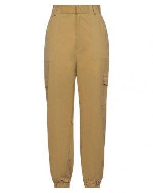 Повседневные брюки GLAMOROUS. Цвет: зеленый-милитари