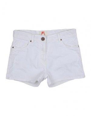 Джинсовые шорты AMERICAN OUTFITTERS. Цвет: белый