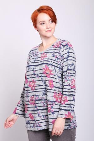 Пуловер Via Appia. Цвет: серый