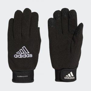 Перчатки Field Player Performance adidas. Цвет: черный