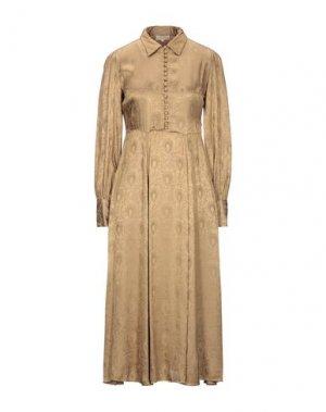 Платье длиной 3/4 byTIMO. Цвет: хаки