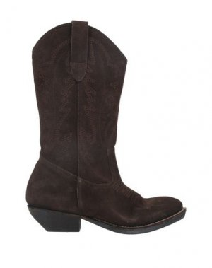 Полусапоги и высокие ботинки ÂME. Цвет: коричневый