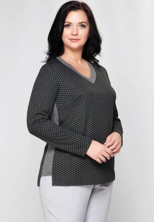 Пуловер Limonti. Цвет: серый