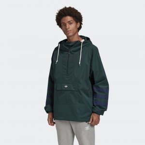 Анорак Originals adidas. Цвет: зеленый