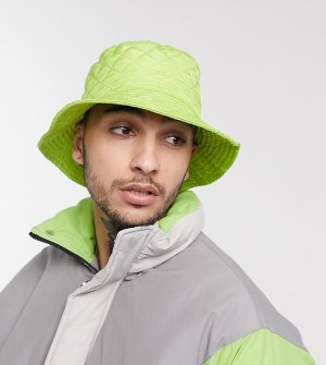 Зеленая панама в стиле унисекс inspired-Зеленый Reclaimed Vintage