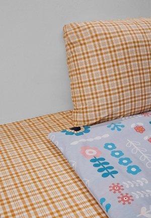 Постельное белье 1,5-спальное Dream Time. Цвет: оранжевый