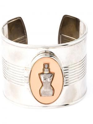 Браслет-кафф classic perfume Jean Paul Gaultier Pre-Owned. Цвет: золотистый