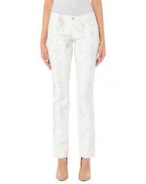 Джинсовые брюки C'N'C' COSTUME NATIONAL. Цвет: белый