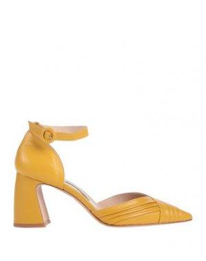 Туфли CHIARINI BOLOGNA. Цвет: желтый