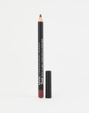 Матовые подводки для губ Suede (Girl Bye)-Розовый NYX Professional Makeup