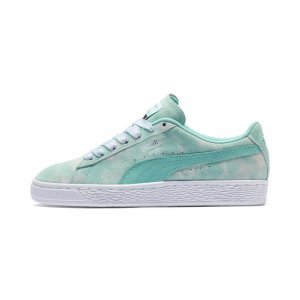 Детские кеды Suede DIAMOND SUPPLY PS PUMA. Цвет: синий