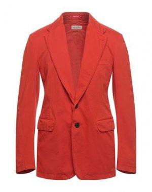Пиджак DRIES VAN NOTEN. Цвет: оранжевый