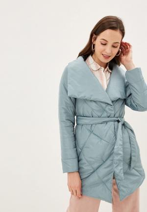 Куртка утепленная Grand Style. Цвет: бирюзовый
