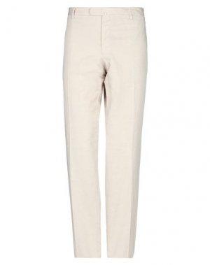 Повседневные брюки ANGELO NARDELLI. Цвет: бежевый