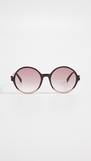 Round Acyrlic Sunglasses Fendi
