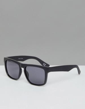 Черные солнцезащитные очки в квадратной оправе -Черный цвет Vans