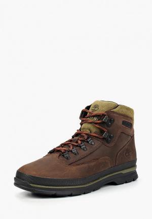 Ботинки трекинговые Timberland EURO HIKER SF LEATHE POTTING SOIL. Цвет: коричневый