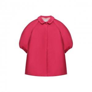 Пальто Il Gufo. Цвет: розовый